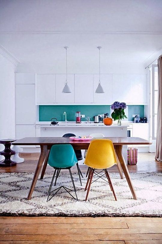 Colour chair inspirations