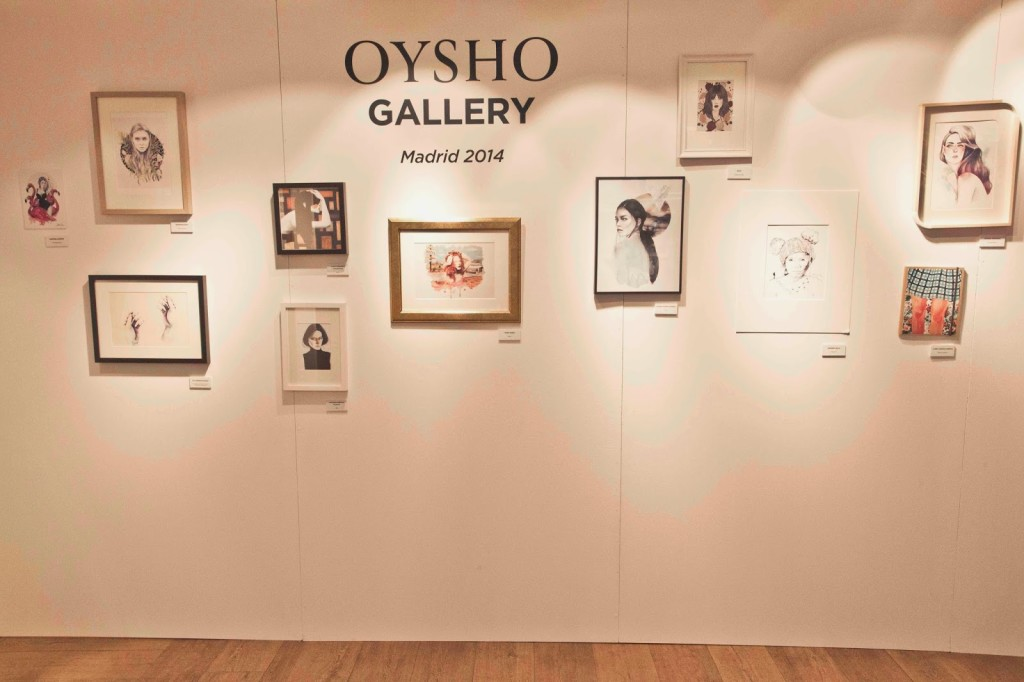 Oysho y el arte unidos en el Art Crossing Party