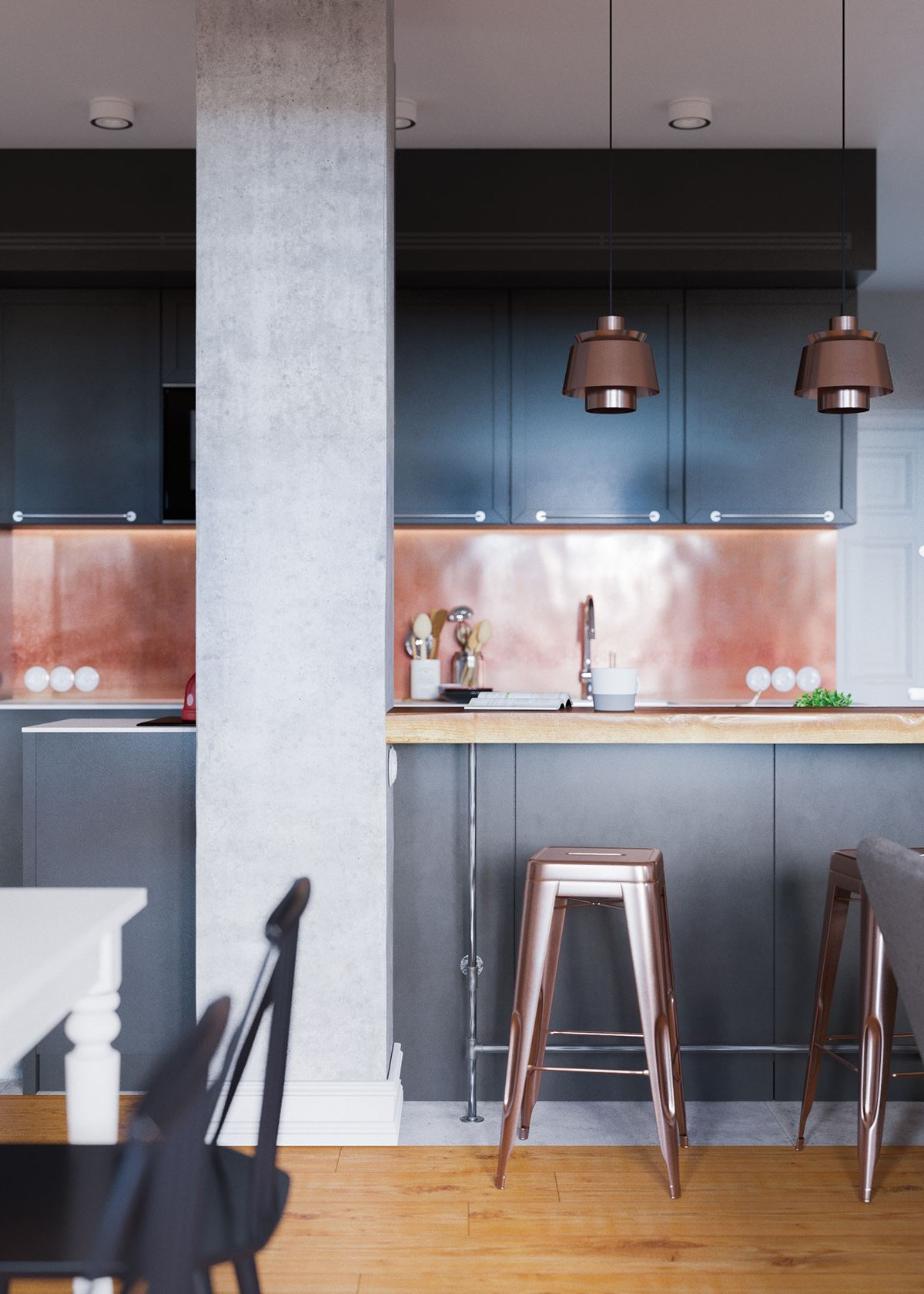 Claves_para_crear_contrastes_de_color_en_la_decoración_espacio_cocina_copper-and-black-kitchen-theme-min