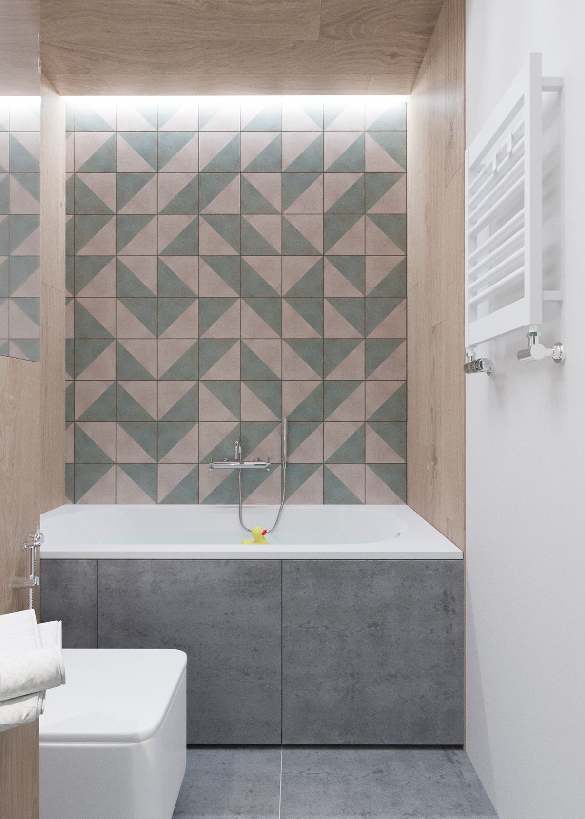 Claves_para_crear_contrastes_de_color_en_la_decoración_espacio_baño_cute-sage-green-and-wood-bathroom-tile-mosaic-min