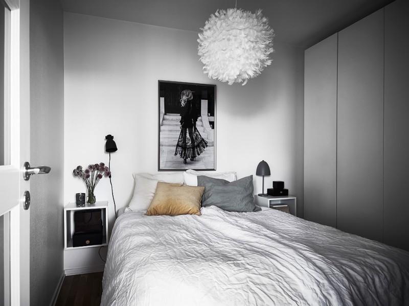 Decorar_con_plantas_de_interior_un_mini_piso_decoinspirción_decolook_dormitorio