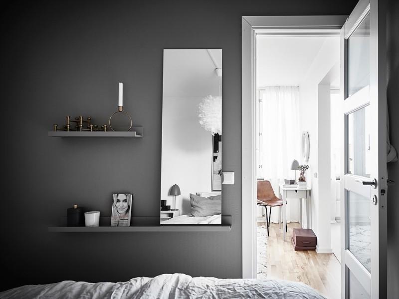 Decorar_con_plantas_de_interior_un_mini_piso_decoinspirción_decolook_decoración_pared_dormitorio