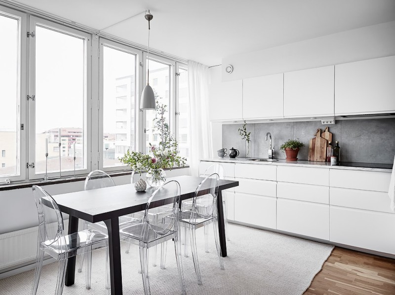 Decorar_con_plantas_de_interior_un_mini_piso_decoinspirción_decolook_cocina