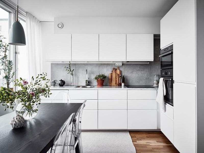 Decorar_con_plantas_de_interior_un_mini_piso_decoinspirción_decolook_mobiliario_cocina