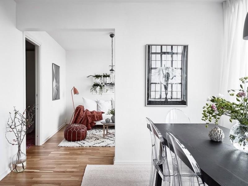 Decorar_con_plantas_de_interior_un_mini_piso_decoinspirción_decolook_salón_comedor