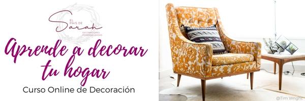Curso Online de Decoración - Aprende a decorar tu hogar